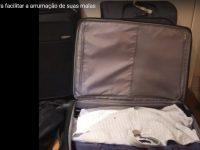 Como arrumar as malas para o avião